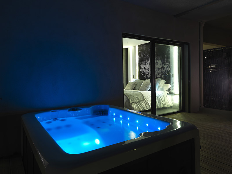 Chambre Luxe Jacuzzi